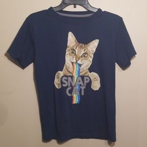 Cat Snap Tshirt Size Large